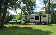 Large and spacious RV sites