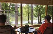 Morning Coffee at Sweetwater Cottage.